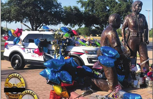 Two McAllen officers ambushed