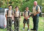 Cub Scouts Earn Furs, Feathers & Ferns