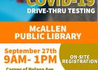 Free COVID Testing at McAllen Public Library